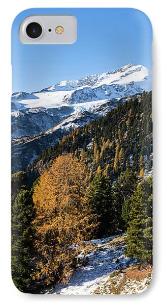 The Upper Valley Martelltal In Fall IPhone Case