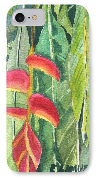 The Upside Down Flower IPhone Case by Eric Samuelson