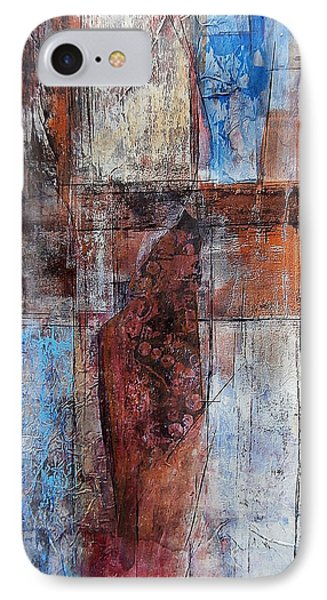 IPhone Case featuring the painting The Urban Frontier by Buck Buchheister