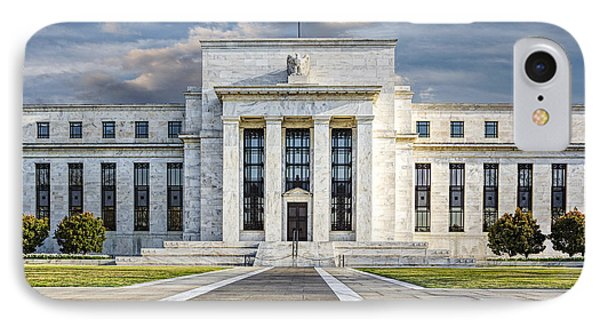 The Us Federal Reserve Board Building Phone Case by Susan Candelario