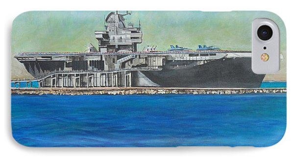 The Uss Lexington - Corpus Christi Texas IPhone Case
