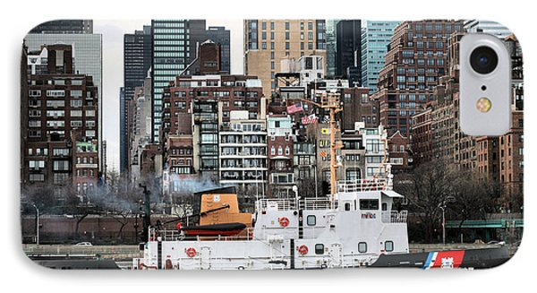 The Uss Penobscot Bay Phone Case by JC Findley