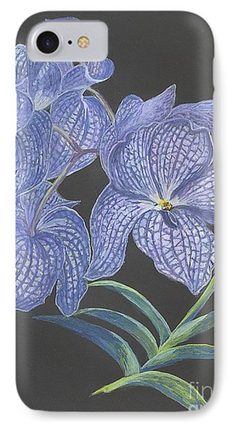 The Vanda Orchid IPhone Case by Carol Wisniewski