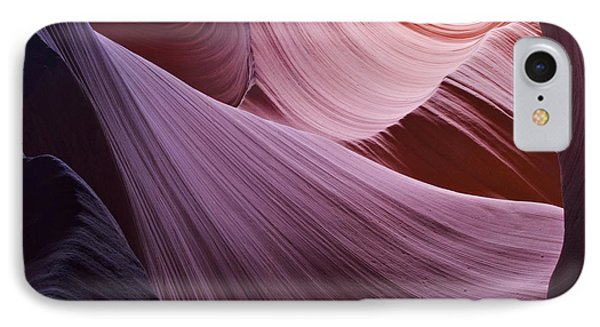 The Veil At Antelope Canyon Phone Case by Alex Cassels