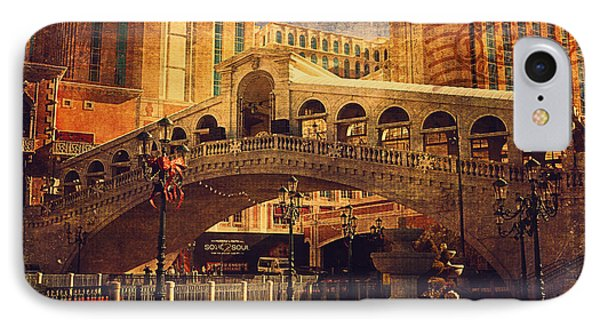 The Venetian  IPhone Case by Maria Angelica Maira