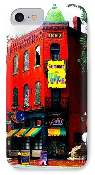 The Venice Cafe' Edited IPhone Case