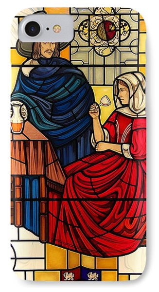The Vermeer IPhone Case by Gilroy Stained Glass