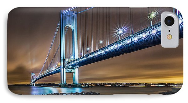 IPhone Case featuring the photograph The Verrazano by Anthony Fields