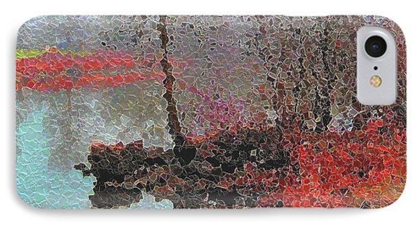 The View Across The Rideau On A Foggy Morning Phone Case by Mario Carini