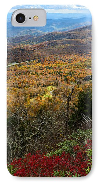 The View From Grandfather Mountain IPhone Case by Andres Leon