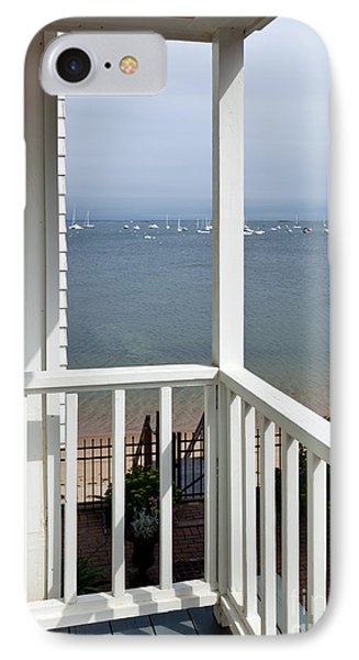 The View From The Porch IPhone Case by Michelle Wiarda