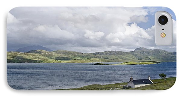 IPhone Case featuring the photograph The View Northern Highlands Of Scotland by Sally Ross