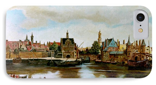 The View Of Delft IPhone Case by Henryk Gorecki