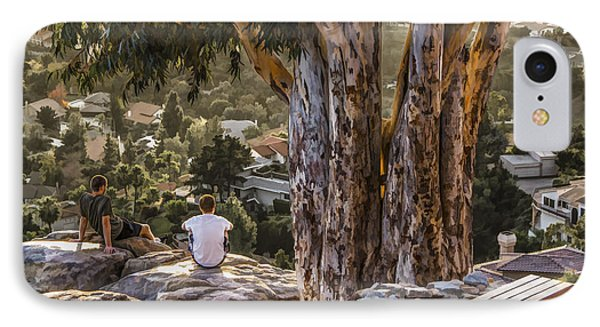 The View IPhone Case by Photographic Art by Russel Ray Photos