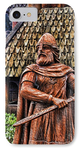 The Viking Warrior Statue  Phone Case by Lee Dos Santos
