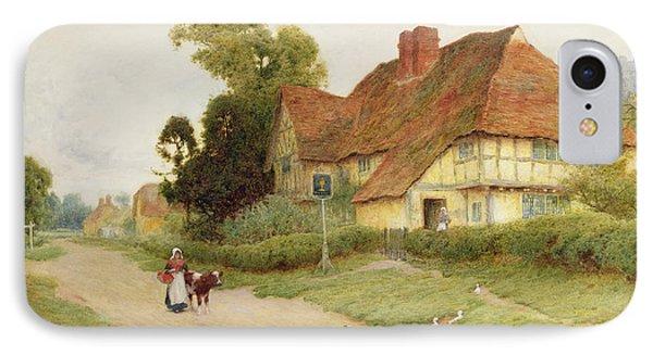 The Village Inn IPhone Case by Arthur Claude Strachan