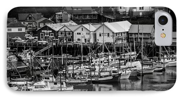 The Village Pier IPhone Case by Melinda Ledsome