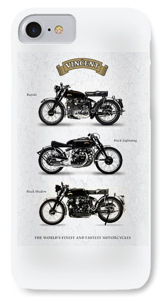 The Vincent Collection Phone Case by Mark Rogan