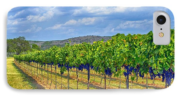 The Vineyard In Color Phone Case by Kristina Deane