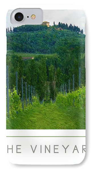 The Vineyard Poster IPhone Case