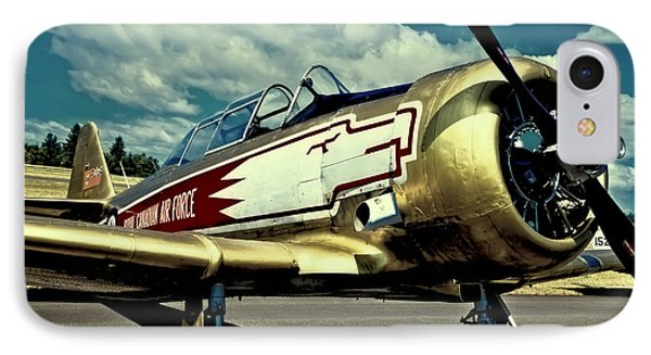 The Vintage North American T-6 Texan Phone Case by David Patterson