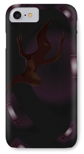 The Violet Void IPhone Case by Kevin McLaughlin