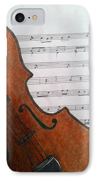 The Violin IPhone Case by Tony Clark