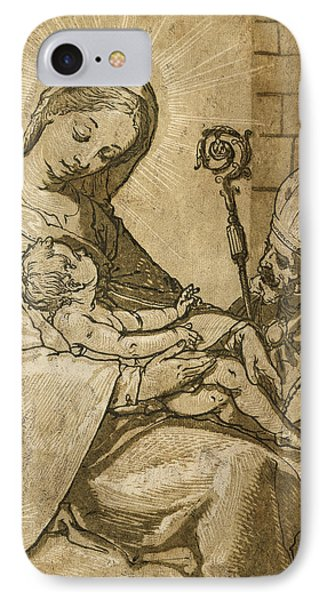 The Virgin And Child IPhone Case