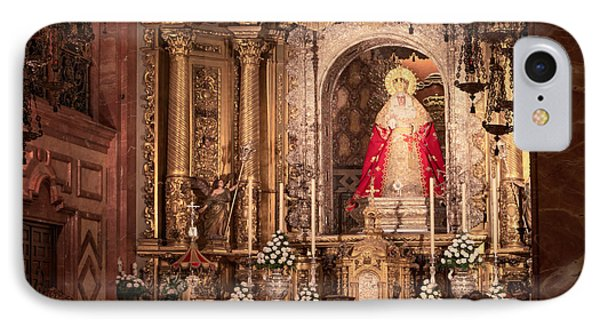 The Virgin Of Hope IPhone Case by Joan Carroll