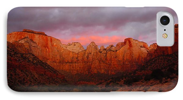 The Virgin Towers At Sunrise IPhone Case