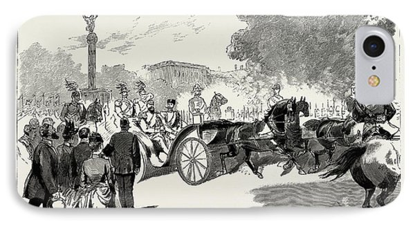 The Visit Of The Czar To The German Emperor At Berlin IPhone Case