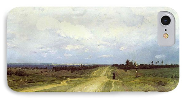 The vladimirka road painting by isaak ilyich levitan for Road case paint
