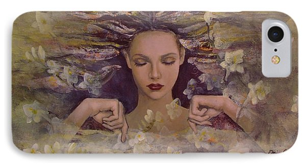 The Voice Of The Thoughts IPhone Case by Dorina  Costras