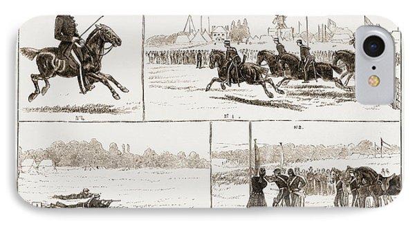 The Volunteer Camp At Wimbledon Uk 1873 IPhone Case