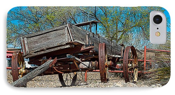The Wagon Phone Case by Don Durante Jr