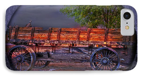 The Wagon IPhone Case by Gunter Nezhoda