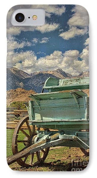 The Wagon IPhone Case by Peggy Hughes