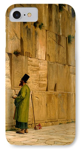 The Wailing Wall IPhone Case by J L Gerome