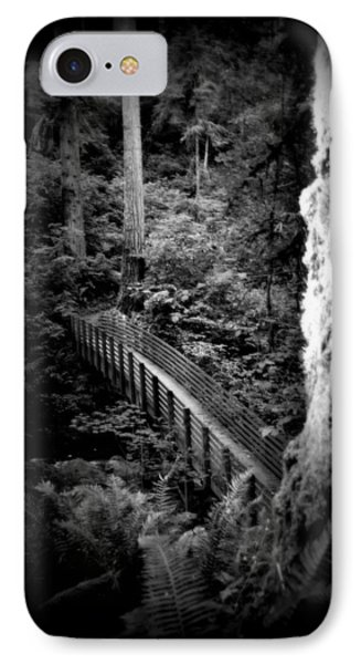 IPhone Case featuring the photograph The Walk Above by Amanda Eberly-Kudamik