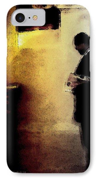 The Walk Home IPhone Case by Steve Godleski