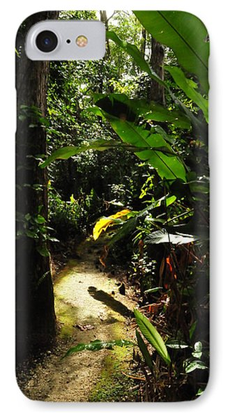 The Walk In Beauty IPhone Case