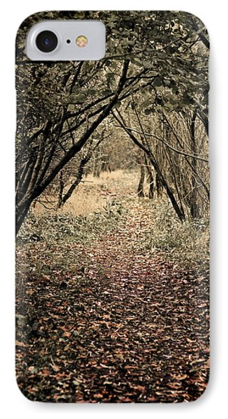 IPhone Case featuring the photograph The Walk by Meirion Matthias