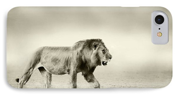 Lion iPhone 7 Case - The Walk by Wildphotoart