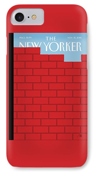 Berlin iPhone 7 Case - The Wall by Bob Staake