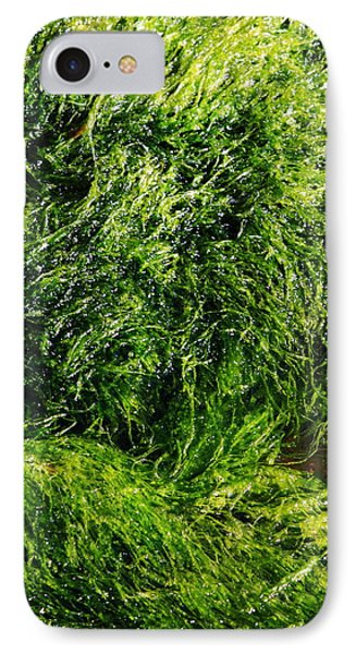 The Walls Are Alive - Seaside Abstract Phone Case by Aidan Moran