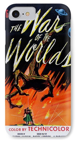 The War Of The Worlds IPhone Case by Georgia Fowler