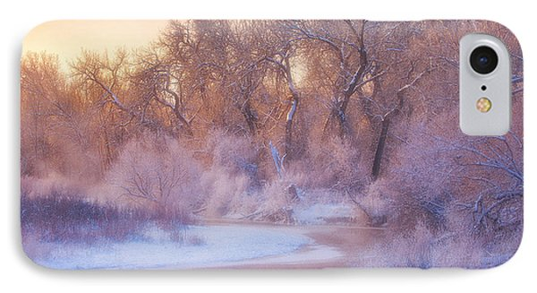 The Warmth Of Winter IPhone Case by Darren  White