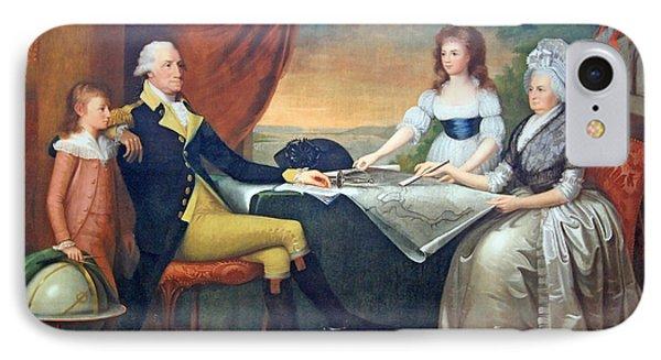 The Washington Family IPhone Case by Cora Wandel