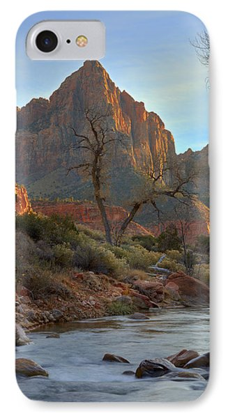 The Watchman In Winter-3 Phone Case by Alan Vance Ley