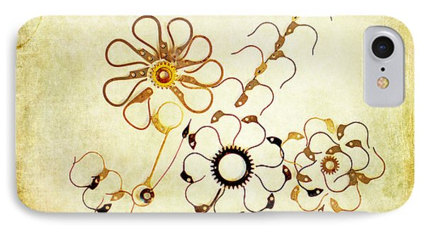 The Watchmans Flower Phone Case by Fran Riley